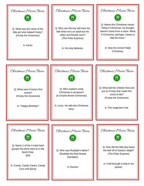 8 Best Images Of Elf Movie Trivia Printable  Christmas Movie Trivia Printable, Printable