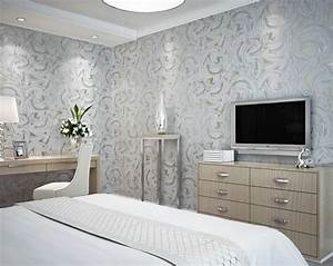 The new modern home decoration silver grey abstract ...