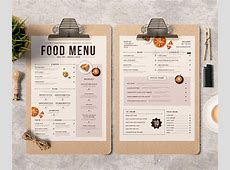 25 Best Restaurant & Bar Menu Template Designs print