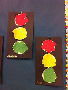 Traffic Light Art For Preschool Traffic Light Craft To Use With Quot Rules Keep Us Safe Quot And