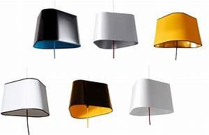 Abat Jour Design : suspension grand nuage 10 abat jours noir jaune or ~ Melissatoandfro.com Idées de Décoration