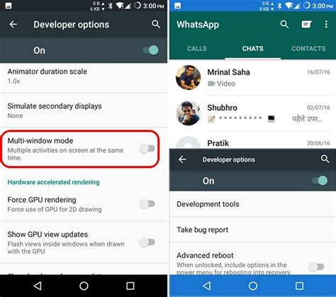 split screen app for android no android n custom rom available we the solution