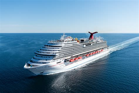carnival cruise line takes delivery of carnival vista