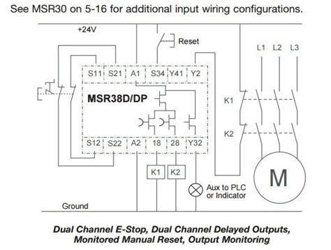 Msr Safety Relay Circuit Design Eng Tips
