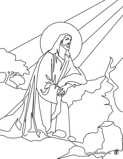 ascension  jesus coloring pages hellokidscom
