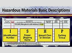 HazMat Shipping Papers Our Videos Mastery Training