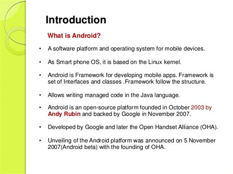 what s the android operating system android operating system by udayan thakurdesai