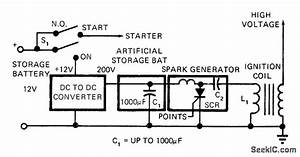 capacitor serves as ignition battery automotive circuit With capacitordischargeignitioncircuit basiccircuit circuit diagram