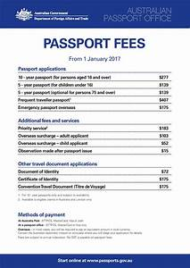 consular passport fees With documents for passport 2017