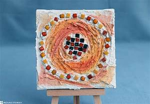 Weihnachtsgeschenke Für Eltern Basteln : kinder basteln weihnachtsgeschenke bild mit mosaik und spachteltechnik ~ Orissabook.com Haus und Dekorationen