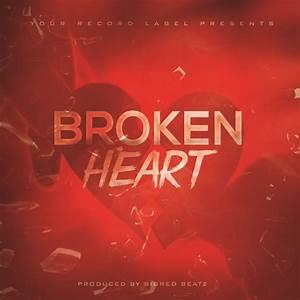broken hearts free album cover template mixtapecoversnet With free mixtape covers templates