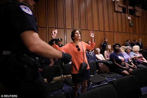 Protesters erupt during second day of Kavanaugh