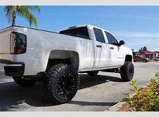 2015 Chevy Silverado with Mcgaughys Suspension Lift Kit