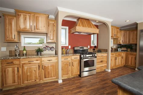 hickory kitchen cabinets update cheap light oak honey kitchen cabinets railing