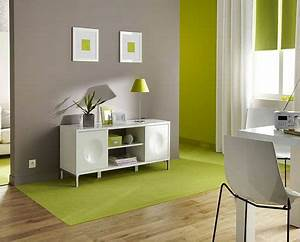 interieur vert avec quelles couleurs associer un mur With idee couleur peinture salon 9 5 idees pour peindre un mur en couleur blog home