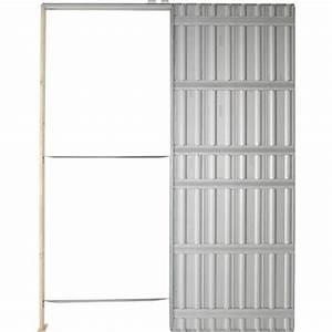 Prix Porte Galandage : syst me galandage chassis plein scrigno pour porte de ~ Premium-room.com Idées de Décoration