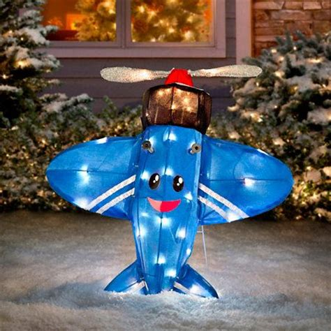 rudolph  misfit toys misfit plane yard art rudolph