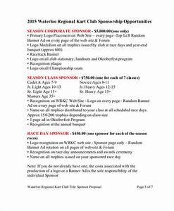 30 sponsorship proposal examples samples With sponsorship marketing plan template