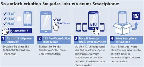 1und1 neues handy neue smartphone optionen bei 1 1 newphone multi card