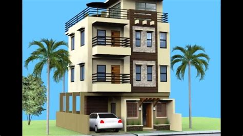 3 Story Building Small 3 Storey House With Roofdeck