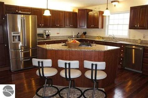kitchen triangle with island triangle island now that s an idea dream house pinterest