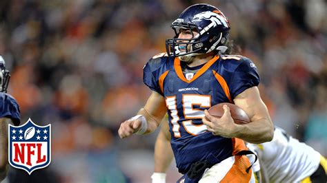 tim tebow touchdown nfl career highlights youtube