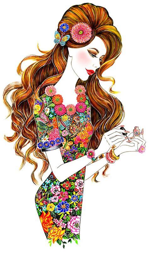 Amazing Fashion Illustration By Sunny Gu   Incredible Snaps