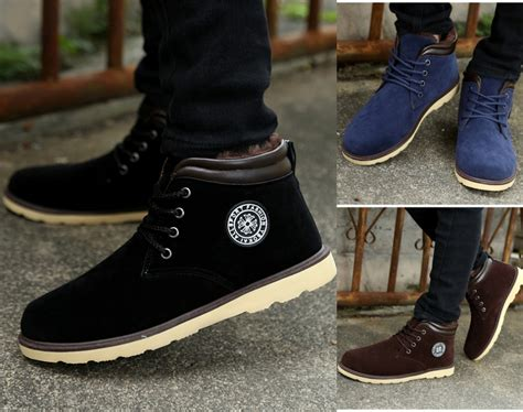 New Spring Winter Men Boots Fashionthin Warm