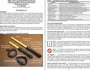 Allflex Usa 930041 Rfid Stick Reader User Manual Rs320 V2