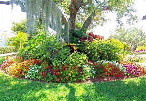 easy landscaping flowers