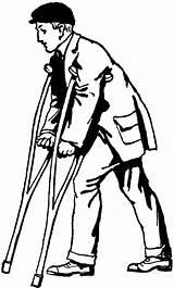 Crutches Clipart Boy Leg Clip Broken Drawing Person Cliparts Library Etc Sad Cast Djart Any Dog Usf Edu sketch template