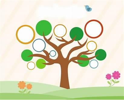 Desain Contoh Tree Dan Gambar Psd Cara