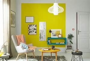 le jaune habille les murs maison creative With peinture couleur lin et gris 8 idees pour decorer un interieur avec des couleurs neutres