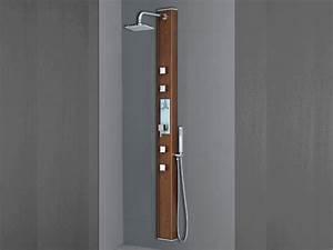 Colonne De Douche Bois : colonne de douche hydromassante 190 x 15cm 27733 ~ Dailycaller-alerts.com Idées de Décoration
