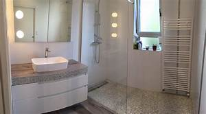 nouvel agencement et amenagement dune salle de bains sur With amenagement de terrasse exterieur 8 deco salle de bain douche