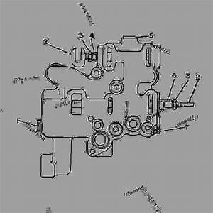 1p6591 Valve Group-selector -transmission Clutch