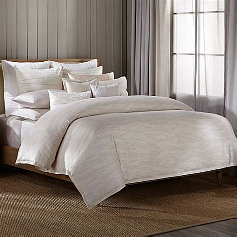 barbara barry duvet cover barbara barry 174 quill duvet cover in marble bed bath beyond