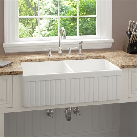country farm kitchen sinks fireclay double country kitchen sink home design and