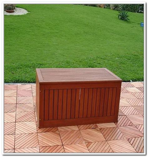 Outdoor Wooden Storage Boxes