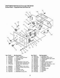 Craftsman 580329140 User Manual Generator Manuals And