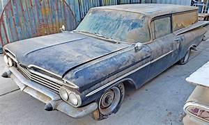 Stalled Hot Rod Project  1959 Chevrolet Sedan Delivery
