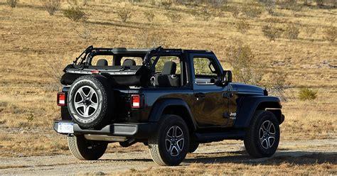 jl jeep release date 2018 jeep wrangler jl 2 door sport s black rear right