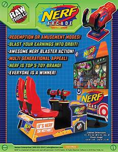 Nerf Arcade  U2013 Amusement Resources