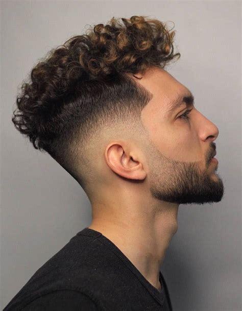 modern mens hairstyles  curly hair