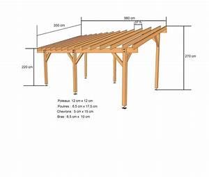 construction abri voiture With exceptional plan maison en pente 10 construire un carport bois