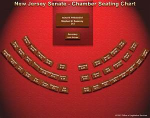 New Jersey Senate Chamber Seating Chart