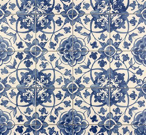 Tapete Fliesen Kachel Blau Faro As Creation 962471