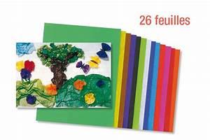 Papier De Soie Action : papiers de soie couleurs vives assorties 26 feuilles papier de soie 10 doigts ~ Melissatoandfro.com Idées de Décoration