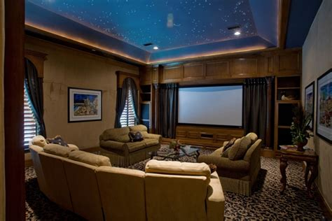 Ways To Design A Practical Media Room  Home Decorating