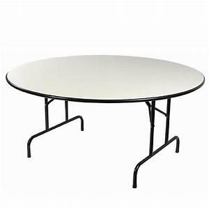 Table Pliante Ronde : table ronde pliante pvc 10 personnes le p 39 tit loueur ~ Teatrodelosmanantiales.com Idées de Décoration